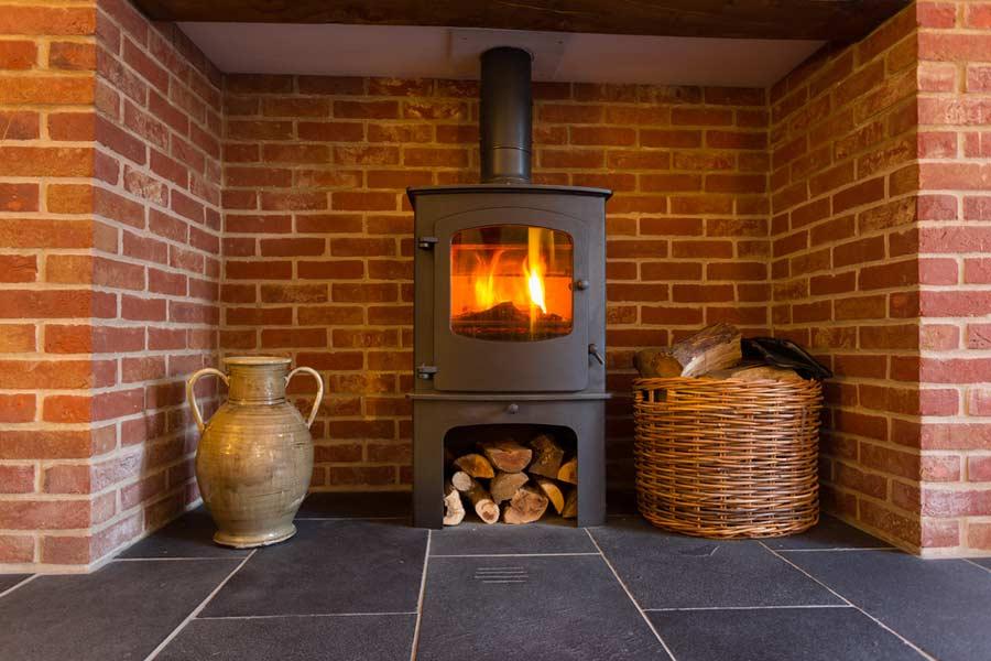 Ein Kaminofen für wohlige Wärme im Haus